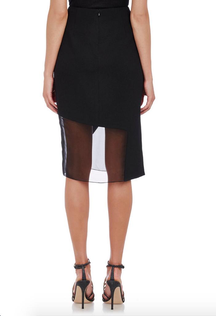 Prabal Gurung Textured Combo Skirt 3