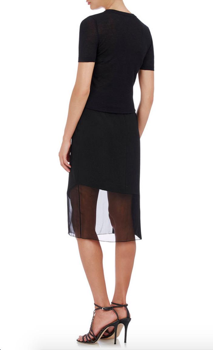 Prabal Gurung Textured Combo Skirt 5