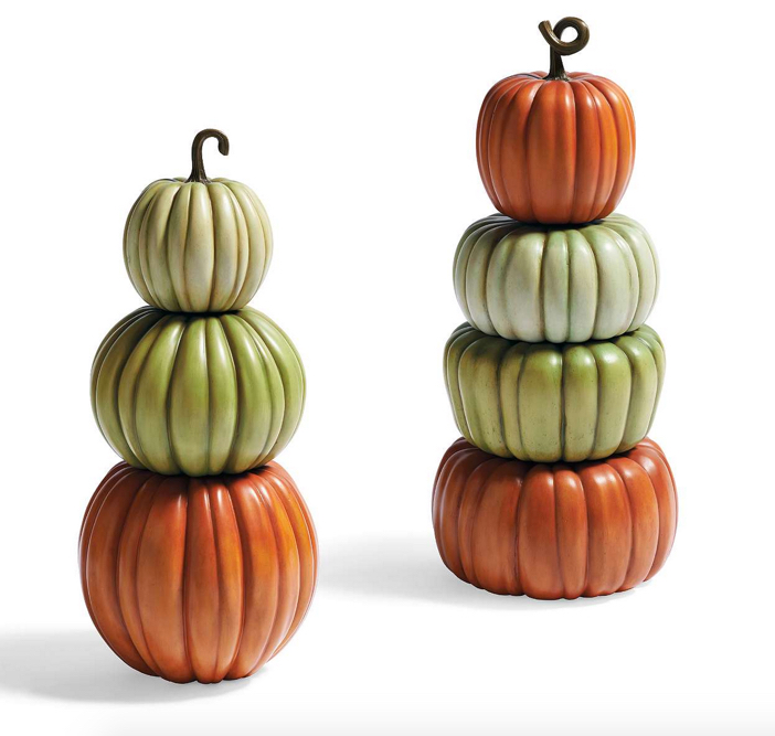 Stacked Pumpkin Topiary 5