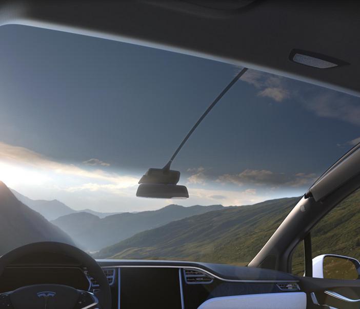 Tesla-Model-X-Windsheild