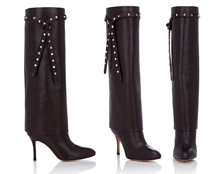 Valentino Studded Knee Boots