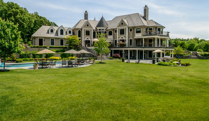 $14.5 Million Hilltop Mansion in New York 12