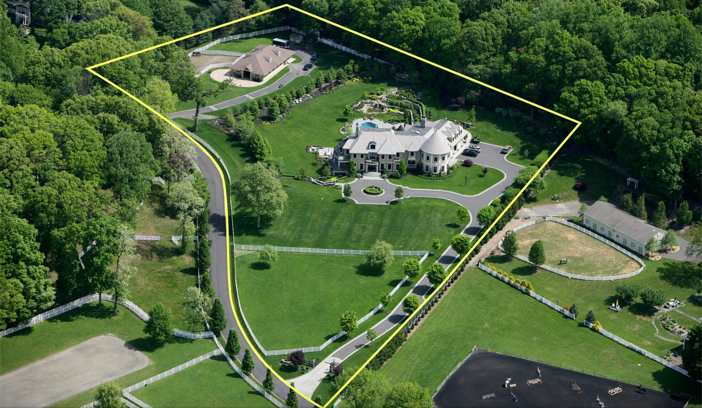 $14.5 Million Hilltop Mansion in New York 2