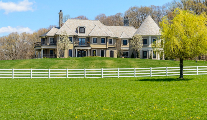 $14.5 Million Hilltop Mansion in New York 4