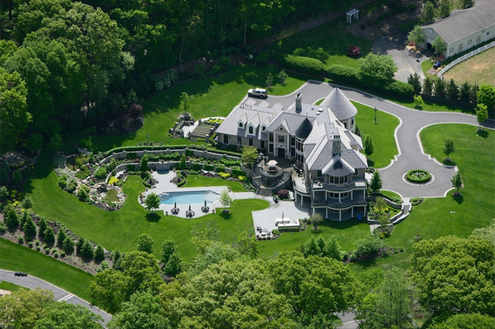 $14.5 Million Hilltop Mansion in New York