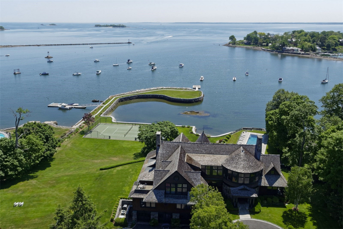 $22 Million Stunning Coastal Mansion in New York