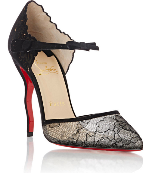 Christian Louboutin Magicadiva Ankle-Strap D'Orsay Pumps