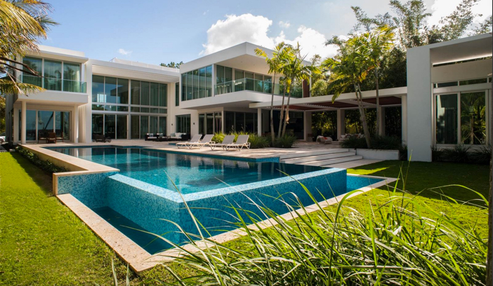 Estate of the Day: $32 Million Modern Mansion in Miami ...