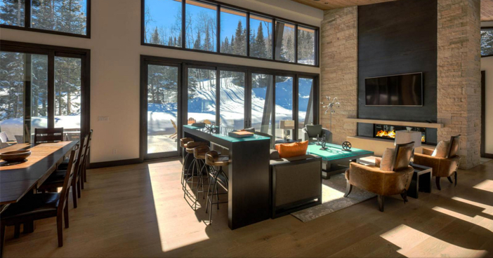 $14.4 Million Modern Mountain Ski Estate in Park City Utah 15