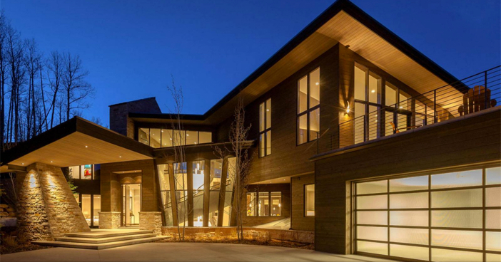 $14.4 Million Modern Mountain Ski Estate in Park City Utah 2