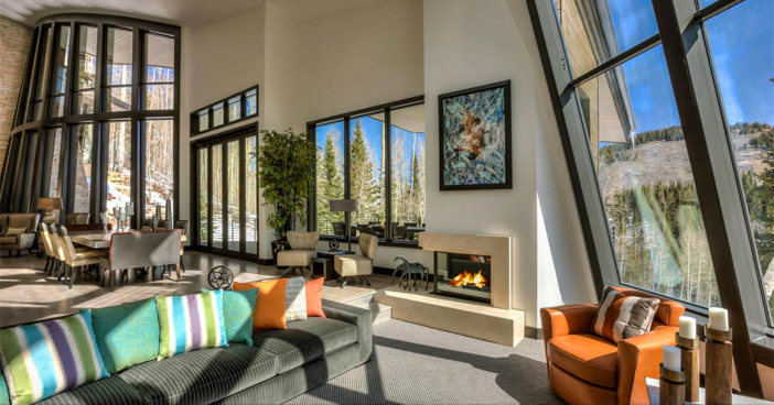 $14.4 Million Modern Mountain Ski Estate in Park City Utah 3
