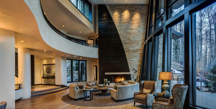 $14.4 Million Modern Mountain Ski Estate in Park City Utah 5