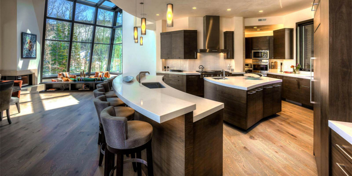 Modern Furniture Utah estate of the day: $14.4 million modern mountain ski estate in
