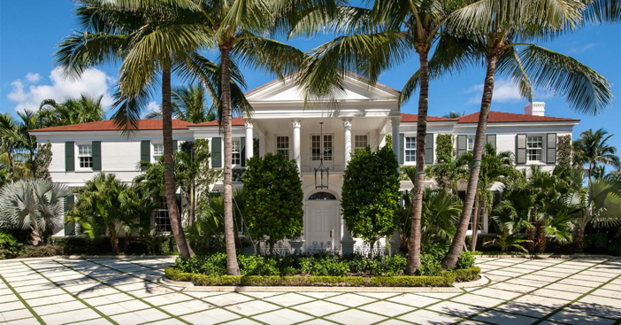 $28.9 Million Oceanfront Mansion in Palm Beach Florida