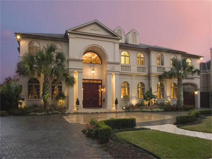$4.4 Million Elegant European Estate in Houston Texas