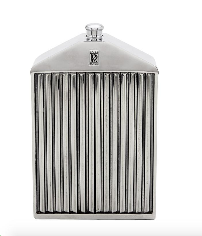 Mantiques Vintage Rolls Royce Grille Decanter