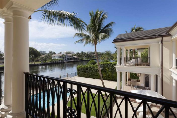 $10.9 Million Waterfront Georgian Manor in Boca Raton Florida 18