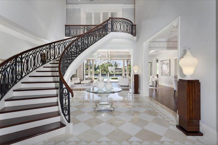 $10.9 Million Waterfront Georgian Manor in Boca Raton Florida 3