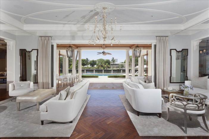 $10.9 Million Waterfront Georgian Manor in Boca Raton Florida 4
