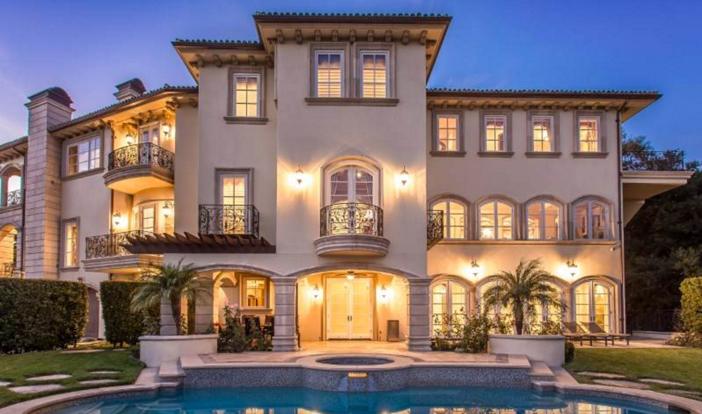 $13 Million Mediterranean Mansion in Beverly Hills California 2
