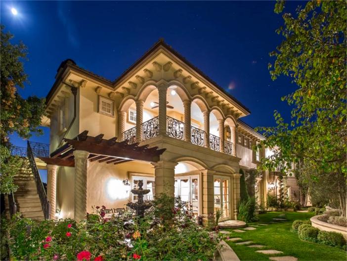 $13 Million Mediterranean Mansion in Beverly Hills California