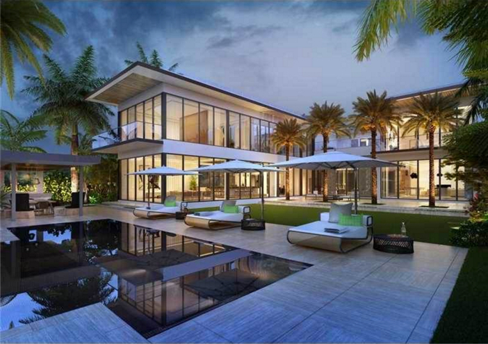 $25.5 Million Waterfront Mansion in Miami Beach Florida