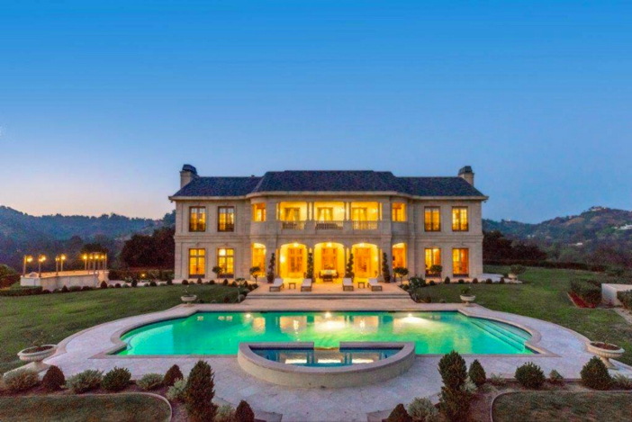 $29.9 Million French Chateau Mansion in Beverly Hills California 16