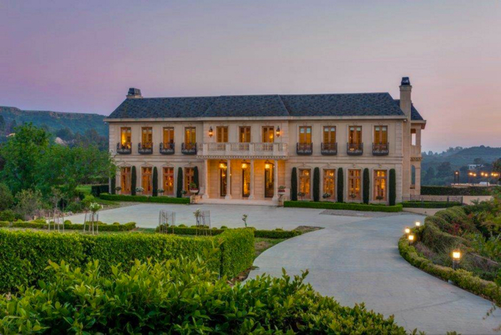 $29.9 Million French Chateau Mansion in Beverly Hills California 2