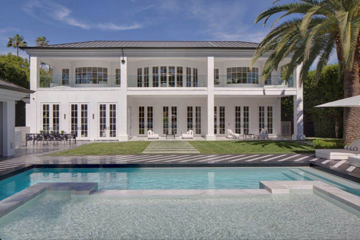 $38 Million Renovated Mansion in Beverly Hills California 13