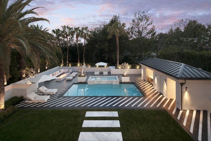 $38 Million Renovated Mansion in Beverly Hills California 2
