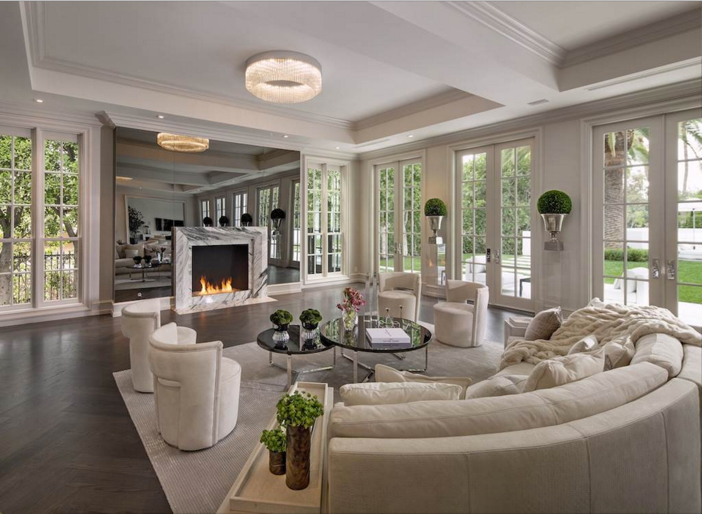 $38 Million Renovated Mansion in Beverly Hills California 6