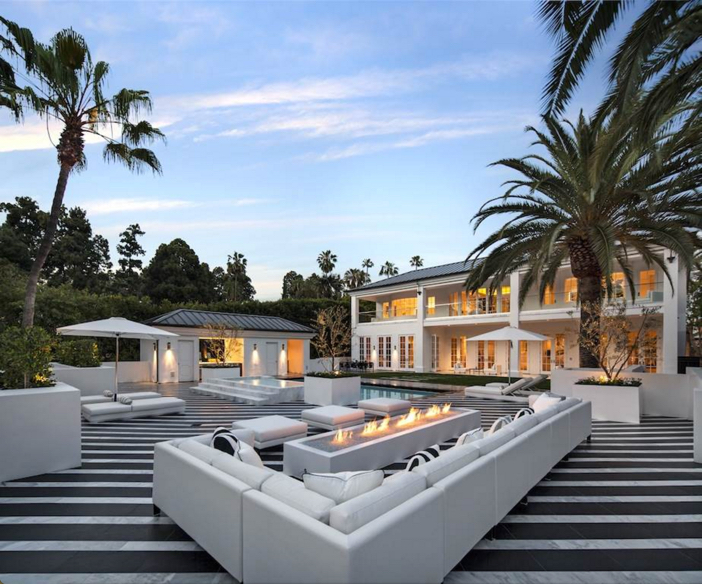 $38 Million Renovated Mansion in Beverly Hills California