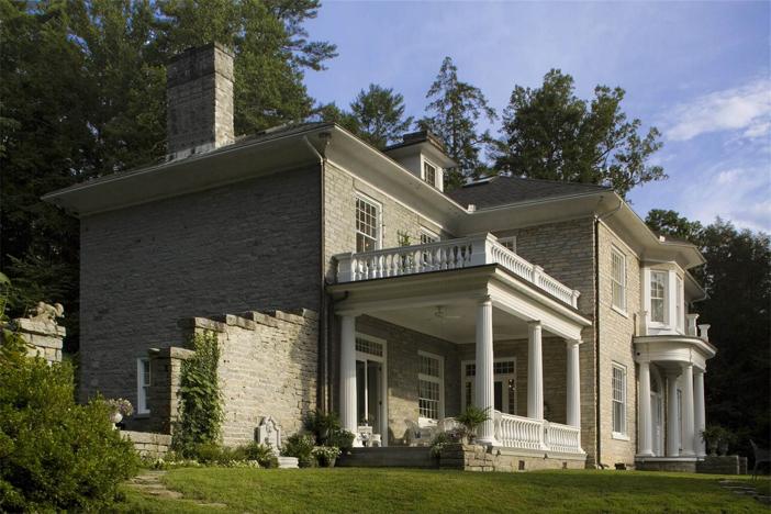 $5.8 Million Historic Neoclassical Chanteloup Estate in North Carolina