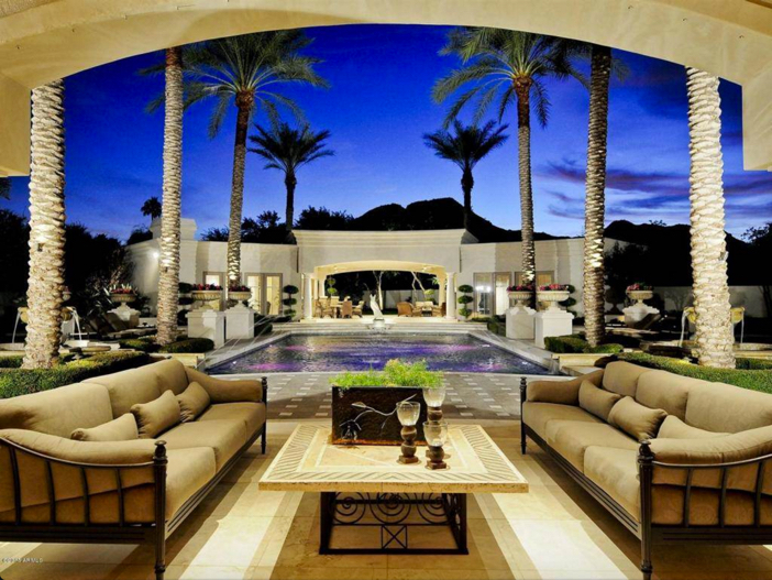 $6.2 Million Luxury Estate with Mountain Views in Paradise Valley Arizona