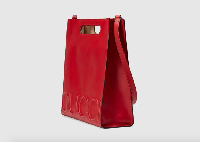 Gucci XL Leather Tote 2