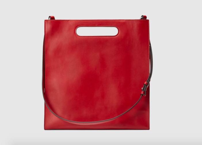 Gucci XL Leather Tote 3