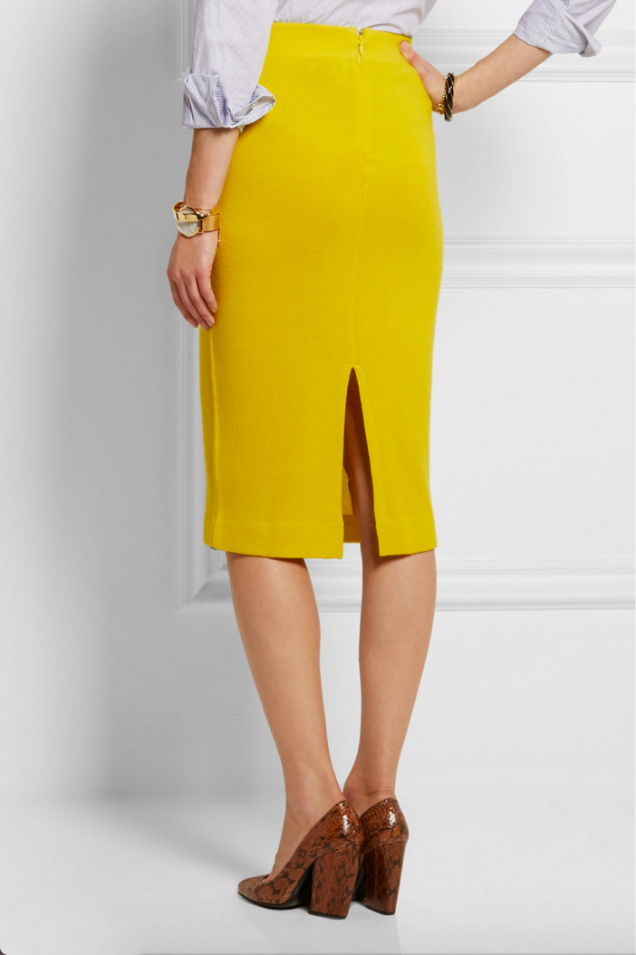 J.CREW Albee Merino Wool Jersey Skirt 2
