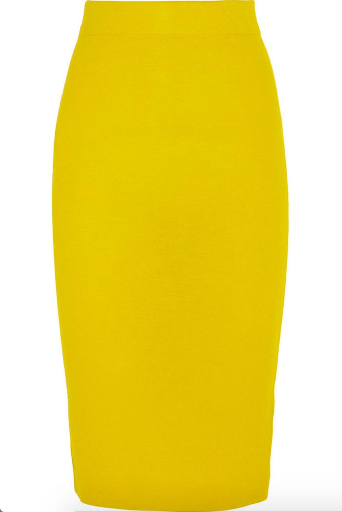 J.CREW Albee Merino Wool Jersey Skirt 4