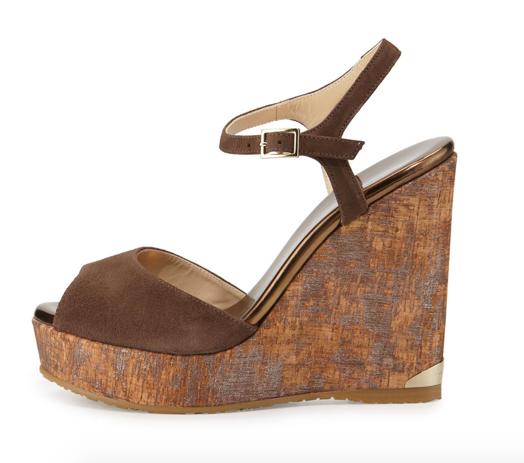 Jimmy Choo Perla Wedge Sandal 2