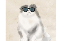 PTM Images Cool Cat Wall Art