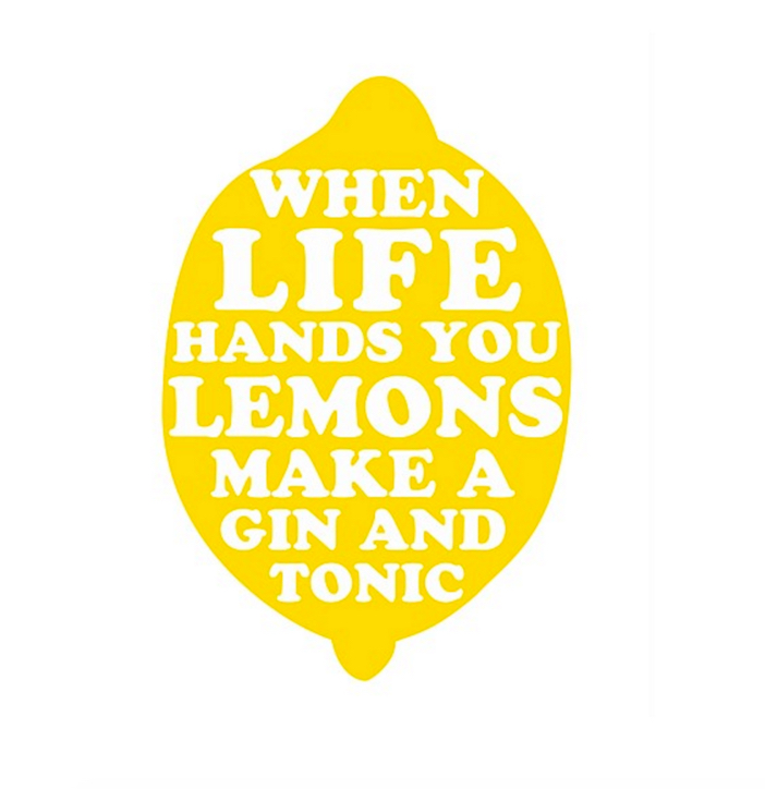 PTM Images Life Hands You Lemons Wall Art