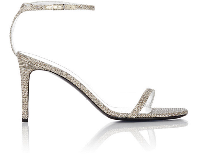 Saint Laurent Kate Ankle-Strap Sandals 4