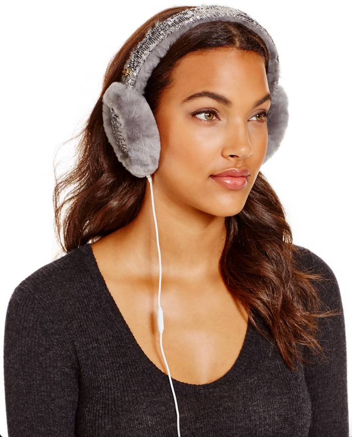 UGG Two-Tone Sparkle Tech Earmuffs 2