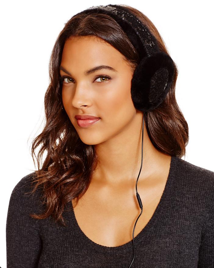 UGG Two-Tone Sparkle Tech Earmuffs 3