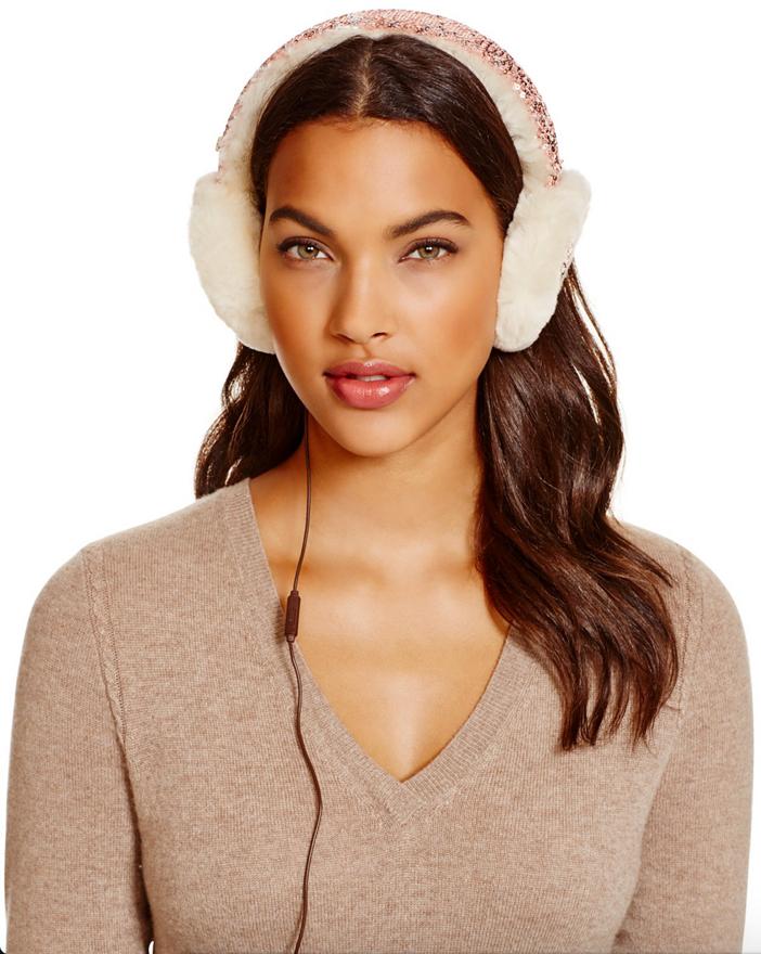 UGG Two-Tone Sparkle Tech Earmuffs