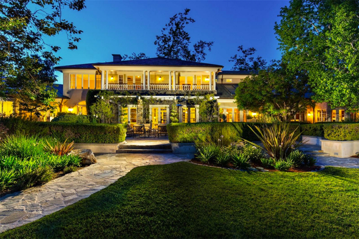 $12.8 Million Refined Country Manor in California