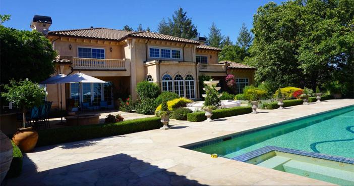 $18.5 Million Mediterranean Mansion and Vineyard in California 15