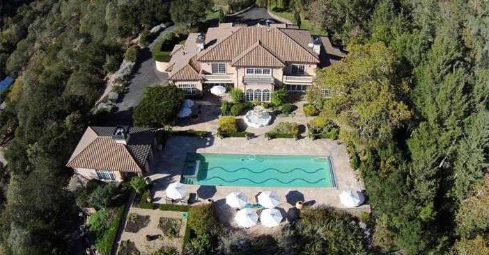 $18.5 Million Mediterranean Mansion and Vineyard in California 3