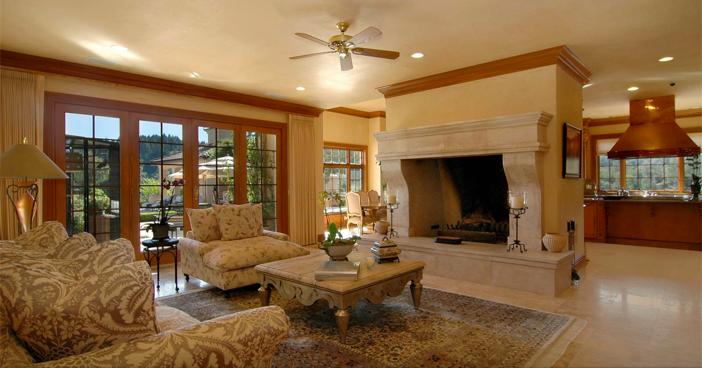 $18.5 Million Mediterranean Mansion and Vineyard in California 6