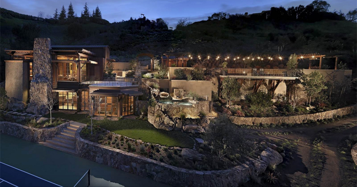 $22.5 Million Magnificent Sports and Luxury Mansion in California